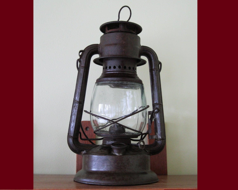 Antique Lantern 1913 Dietz Little Wizard Oil Kerosene Cold