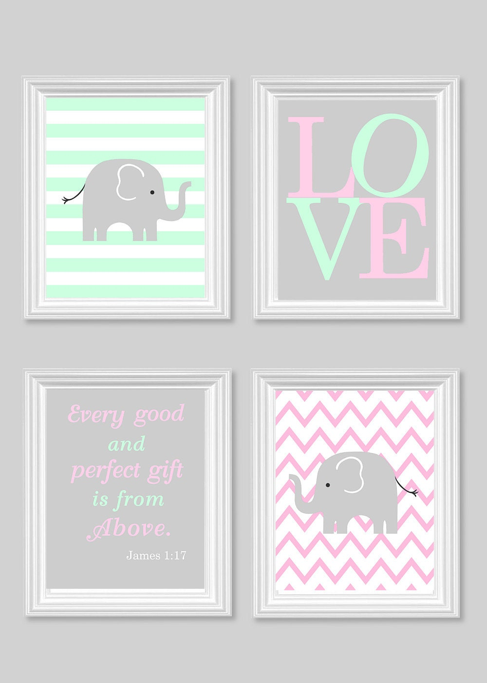 elephant nursery baby s room decor by