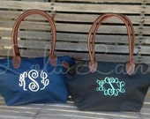 SALE!!!! Monogrammed Small Tote Bag, Small Tote Bag, Monogrammed Purse,