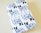 Mini journal covered with Blue Healer, Australian Cattle Dog fine paper