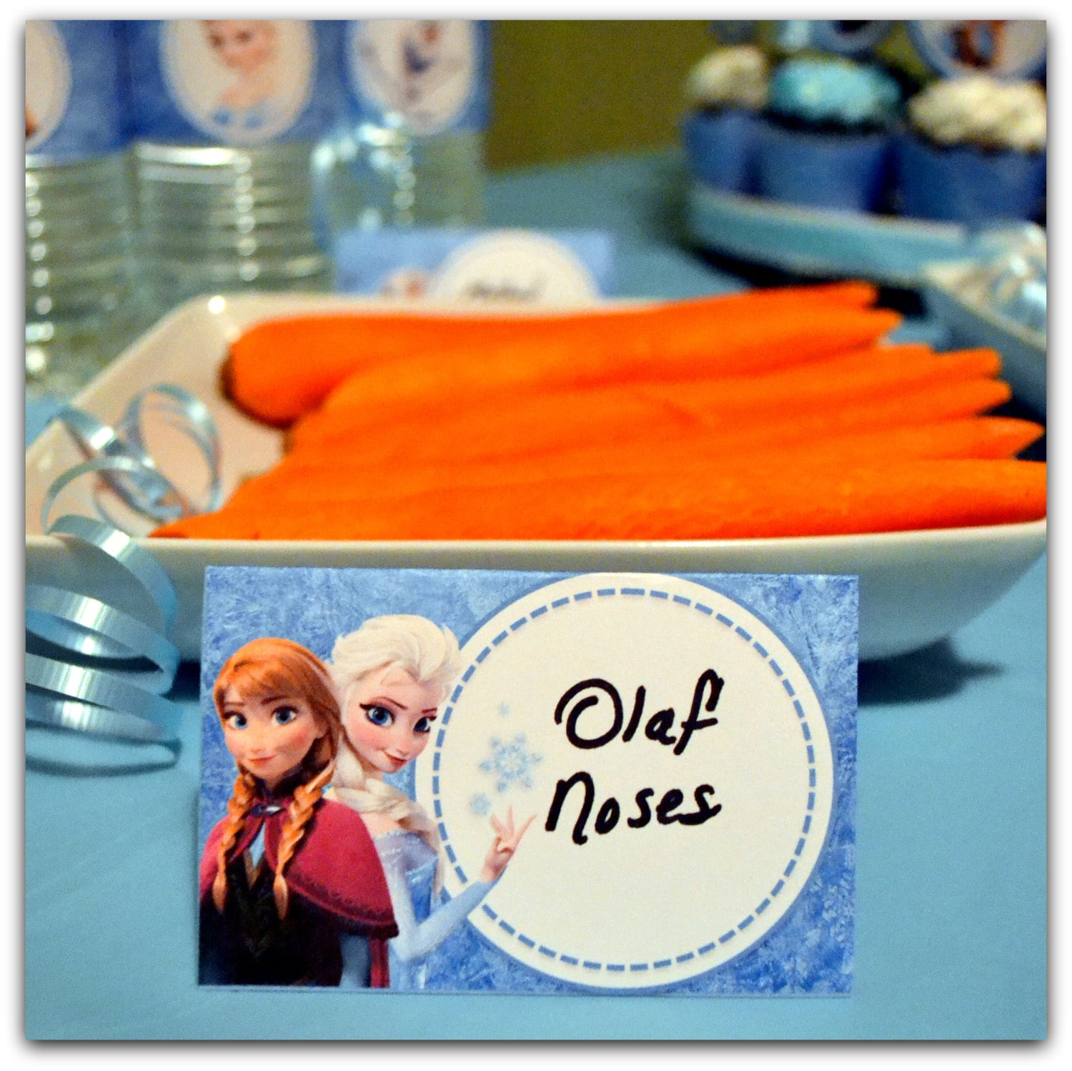 Disney FROZEN Birthday Party Food Labels By KraftsbyKaleigh