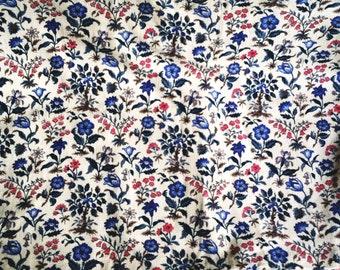 Vintage A Puritan Vat Print Design Mab Fabric - 2.5 yards