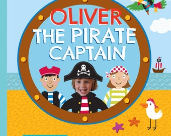 Personalized Book - The Pirate Captain Personalized Children Book - Gift for Kids, Personalized Gifts for Kids, Keepsake Book, Memory Book