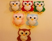Owl Decoration Wall Hanging Christmas Tree Ornament
