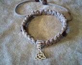 Wicca Pagan Celtic Triquetra Protection Amulet Bracelet