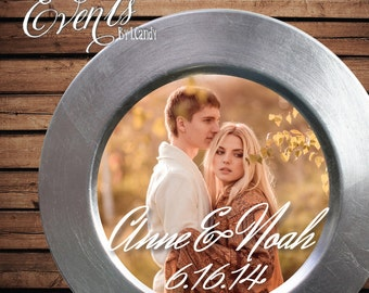 Photo Insert that fits on a Plate or Charger