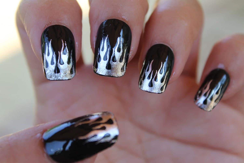 Nail Art III Polyvore - Harley davidson nail art stickers - 3 Sets Of 20 HARLEY DAVIDSON STICKERS In 2 SIZES 60 NAIL ART. Nail