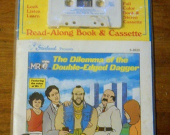 Mr. T   read along story book with cassette
