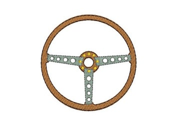 Instant download Machine  Embroidery  car steering wheel