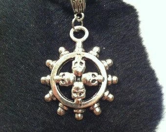 Circle of Skulls Necklace