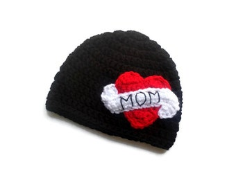 Mom Tattoo Hat - Tattoo Mom Beanie