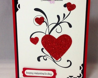 Valentines/Love You card. Made with high quality Stampin Up products.