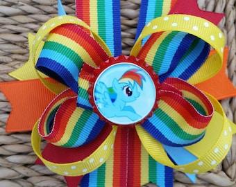 My Little Pony- Rainbow Dash hairbow