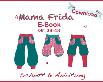 PDF Pattern E-Book Mama Frida