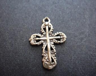 Solid bronze cross, bronze cross
