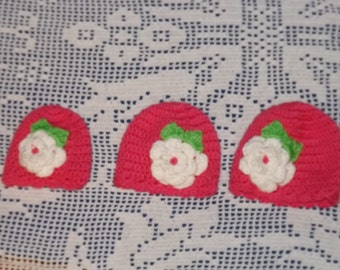 Preemie Hat Set