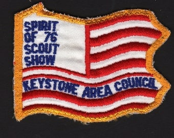 Spirit of 76 Scout Show Keystone Area Council Boy Scouts of America BSA Patch Free Shipping for US Address