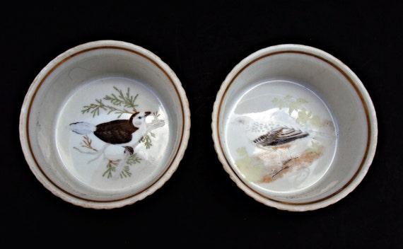 Lot Of 2 Louis Lourioux Le Faune France Fireproof Porcelain