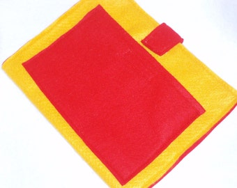 Felt Board to Go, great to have with felt sets - Yellow and Red