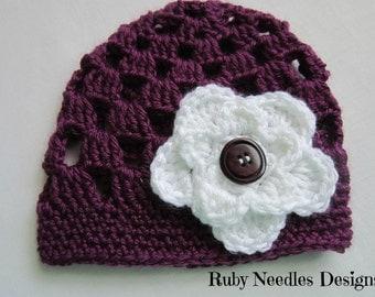 Crochet PATTERN - Nina Beanie **PDF Pattern**