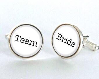 Team Bride - Wedding Cufflinks