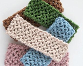 Stretchy Crochet Headband- Handmade