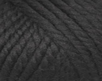 Rowan Big Wool Yarn Color 08 Black  Huge Savings!!  Regular price is 16.95.