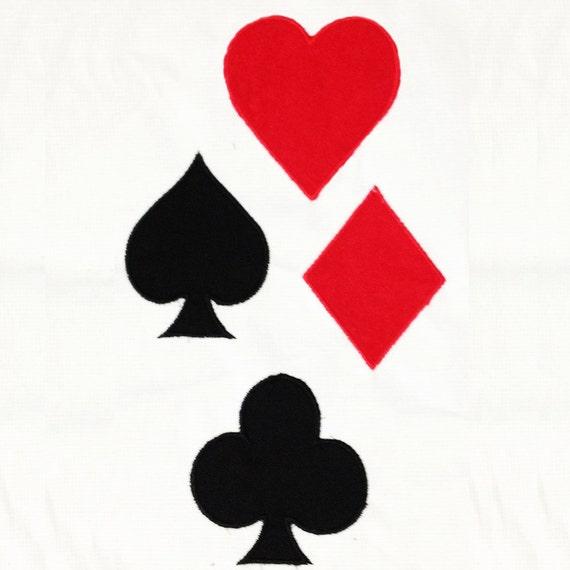 Items similar to Playing card symbols: club, heart ...