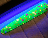 Green Confetti Spanking Paddle