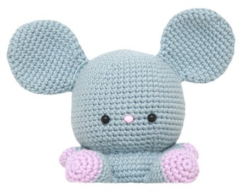Fat Face Mouse Amigurumi Pattern