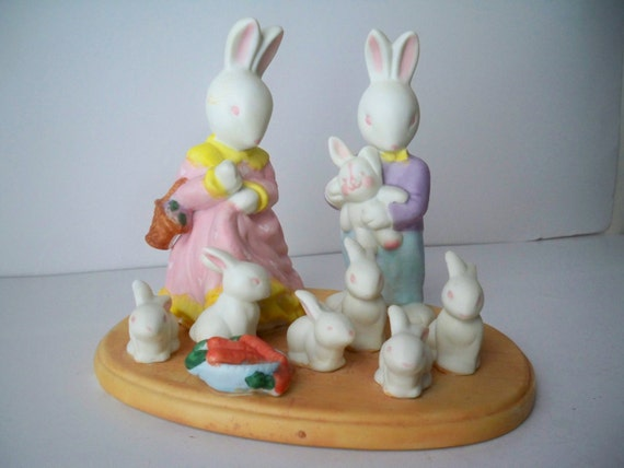 1980s Vintage Novelty Easter Bunny