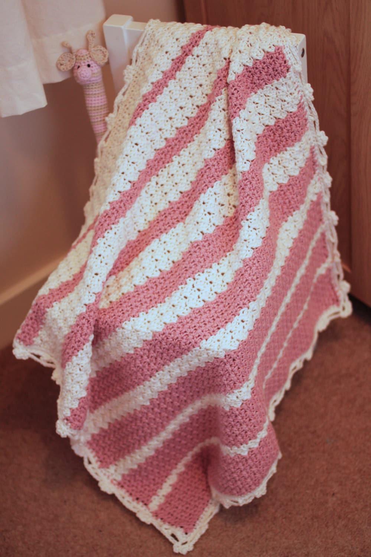 Marshmallow Crochet Baby Blanket Pattern : Marshmallow Baby Blanket Crochet Pattern