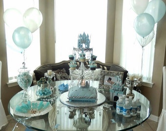 Prince theme 1st birthday package