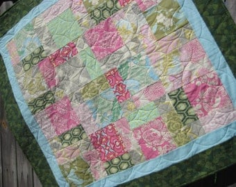 Baby Quilt in Amy Butler Fabrics