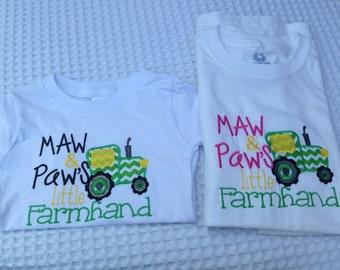 Tractor Farmhand shirt