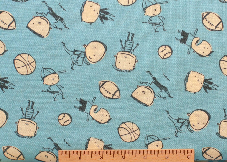 David walker fabric boys will be boys boys toss dw45 blue for Boys cotton fabric