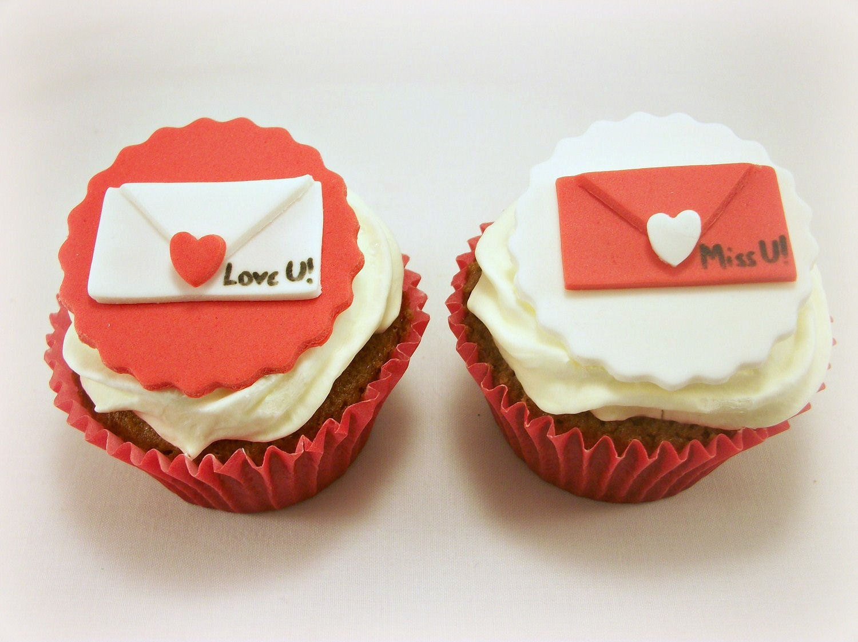 Valentine Fondant Cupcake Toppers Traffic Club