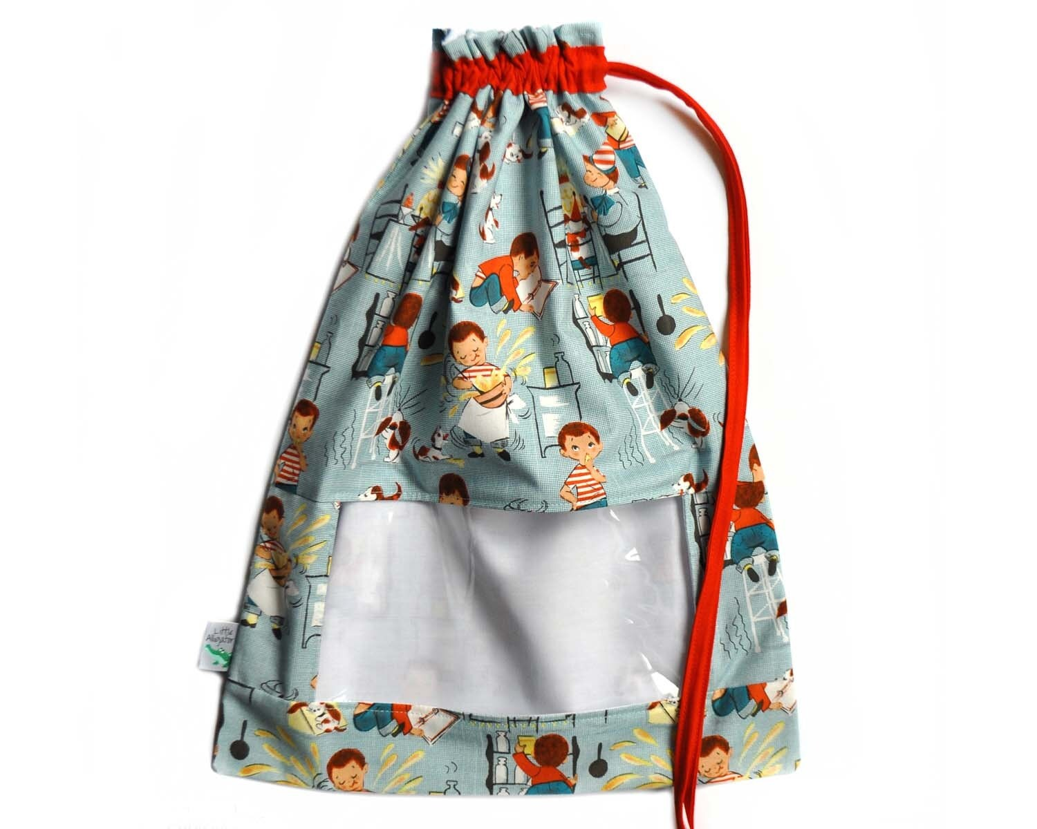Bag Of Toys : Toy bag drawstring vinyl window sack