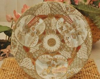Antique Japanese Porcelain Nippon Plate - Circa 1900s - Japanese Decor