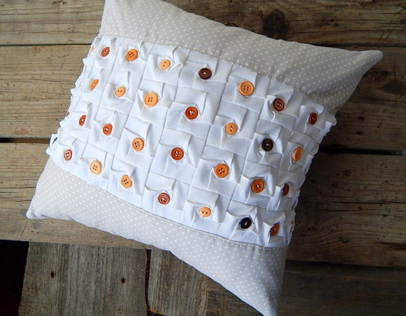 https://www.etsy.com/listing/165634861/beige-polka-dot-decorative-pillow