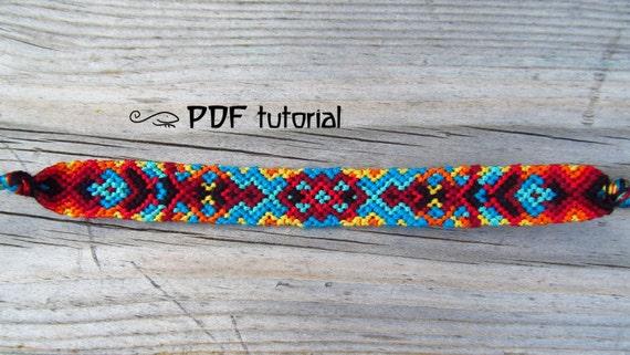 friendship bracelet instructions pdf