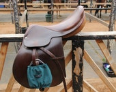 JG Large Solid Barn Colored Stirrup Covers