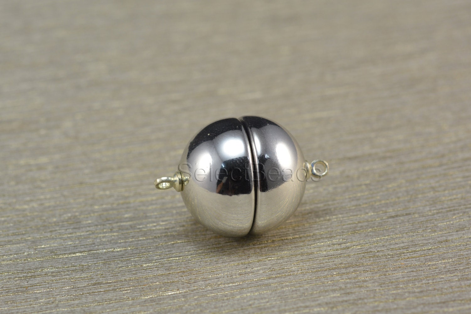 magnetic clasp 18mm silver color clasp
