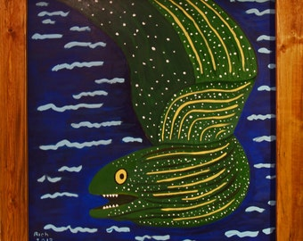 Eel Original Painting