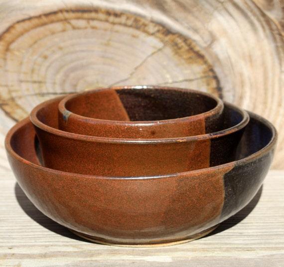 sch ssel set stapelbar steinzeug keramik sch ssel set in. Black Bedroom Furniture Sets. Home Design Ideas