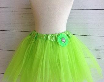 Neon Green Girls Tutu Set