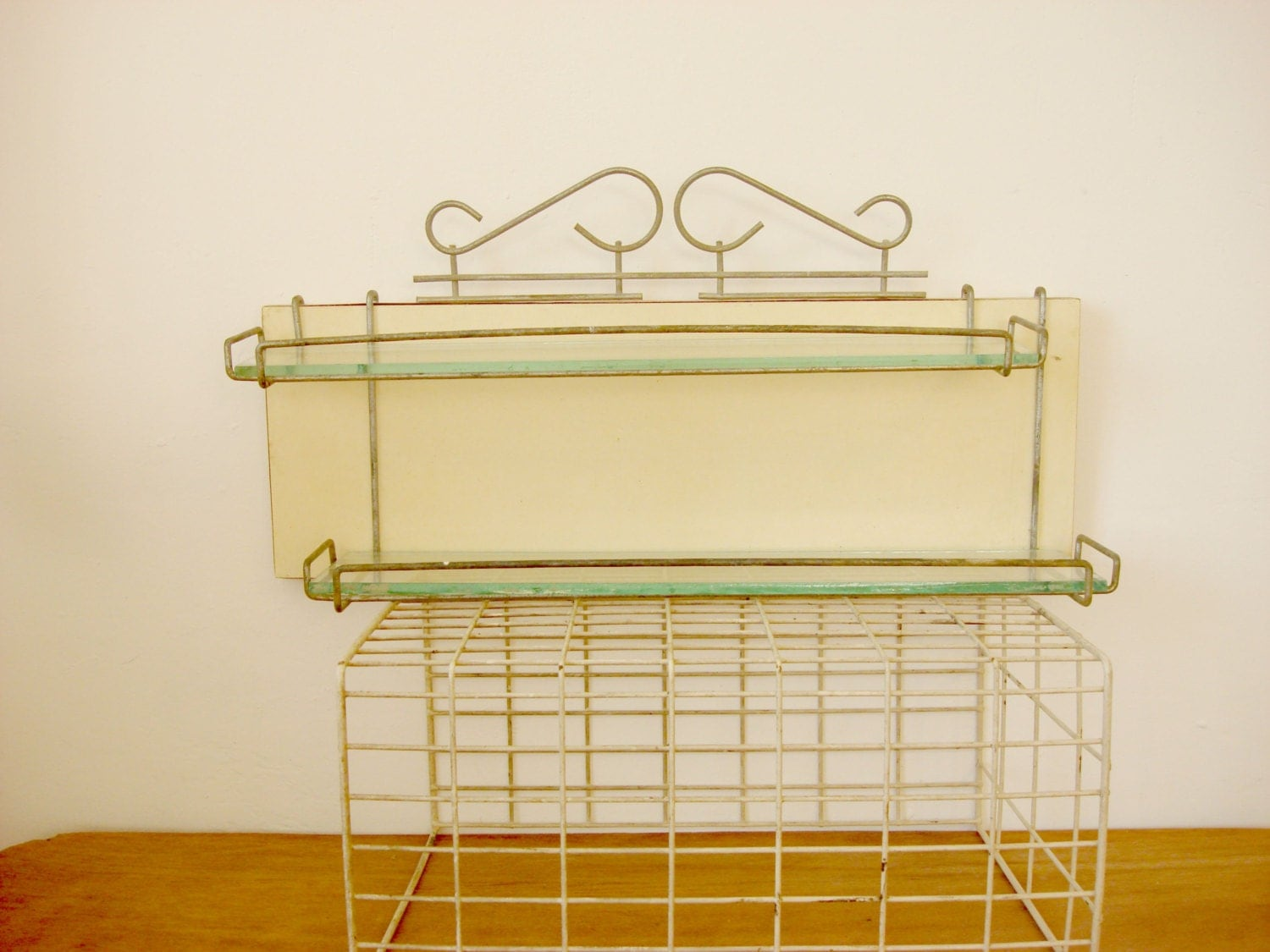 Popular Because Traditional Shelves Might Be Too Big For A Small Bathroom, You May Need To Look To Other Items For Shelving Ideas Hang A Floating Glass Shelf Or Two For Storage Glass Shelves Work Well In Small Bathrooms Because They Are