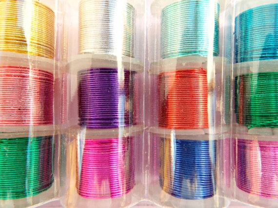 24 gauge wire 12 wire pack mixed color wire copper wire for 24 gauge craft wire