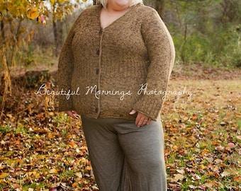 Matilda Jane inspired Plus Size Womens  ruffle pants.
