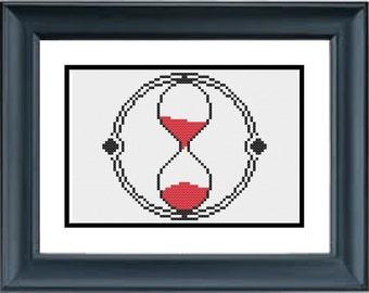 Time Turner - Harry Potter - PDF Cross-Stitch Pattern